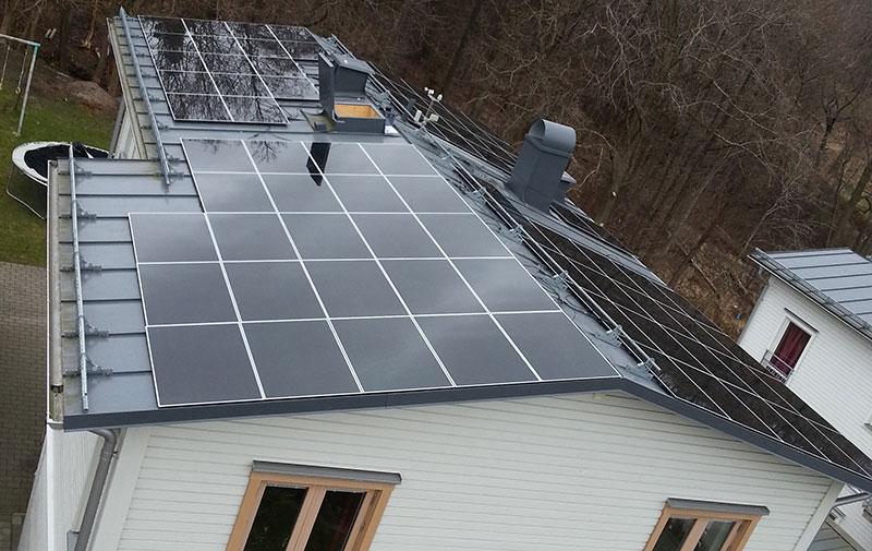 10 kWp PV-Anlage in Schweden