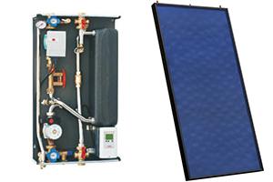 Solarthermie - Frischwasserstation & thermisches Solarmodul