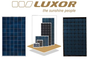 luxor solarmodule multiwattmultiwatt. Black Bedroom Furniture Sets. Home Design Ideas