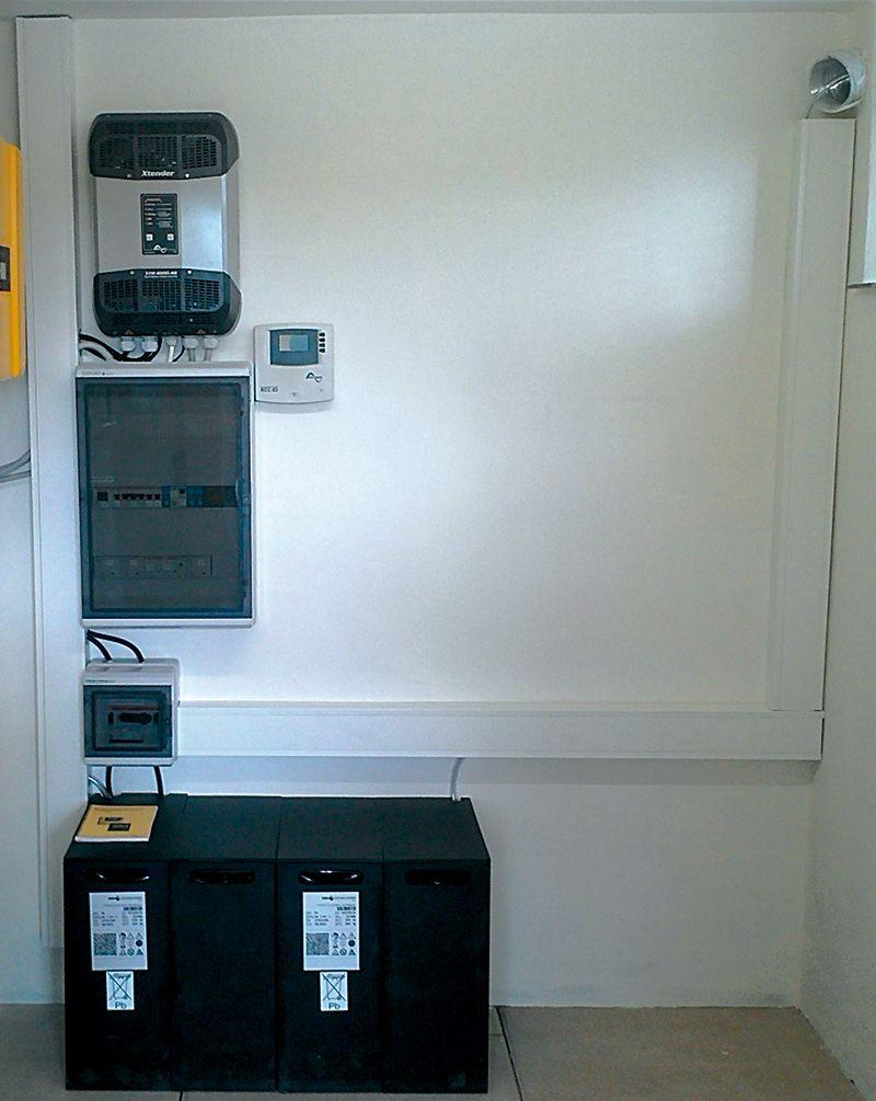 multiwatt Energiemanager Installationsbeispiel 3