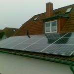 Photovoltaik-Anlage von multiwatt® - Einfamilienhaus, Nienhagen, Mecklenburg Vorpommern