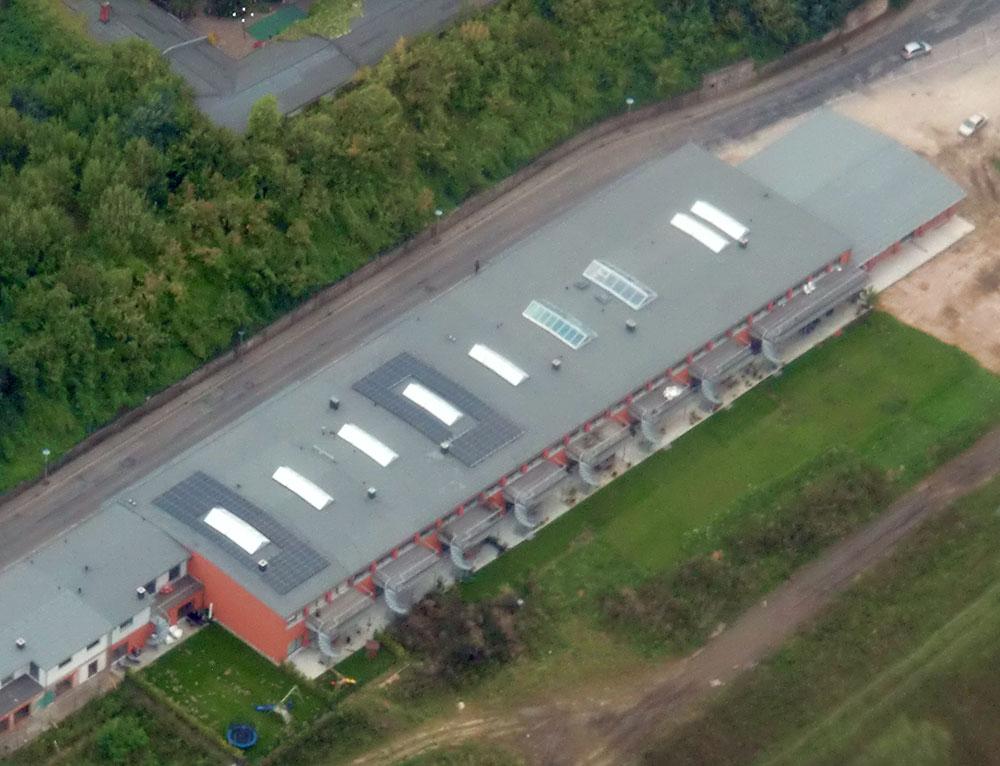 Photovoltaik-Anlage von multiwatt® - Friedrichfranzbahnhof, Rostock