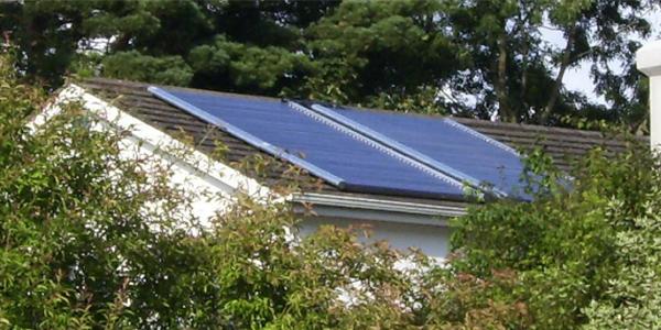 Anwendungsbeispiel Haustechnik Solarthermie