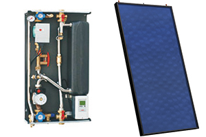 Solar-thermal - fresh water station & thermic solar module