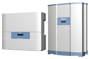 DELTA 1 & 3-phasige Solar Wechselrichter