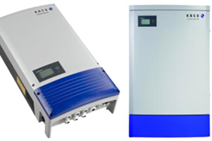 Kaco 1 and 3-phase Inverter with and withour Transformer
