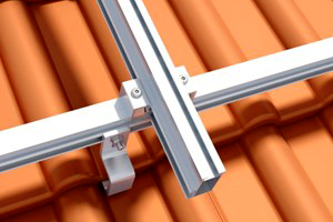 Mounting Systems pitched roof cross rail connector