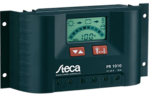 Off-Grid Steca solar charge controllers PR