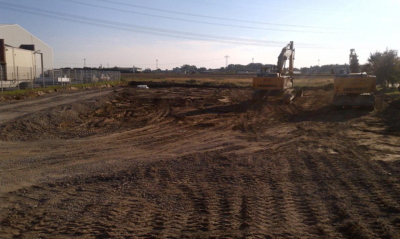 multiwatt® Wirtschaftsgebäude Baubeginn 01.09.2014 - 1
