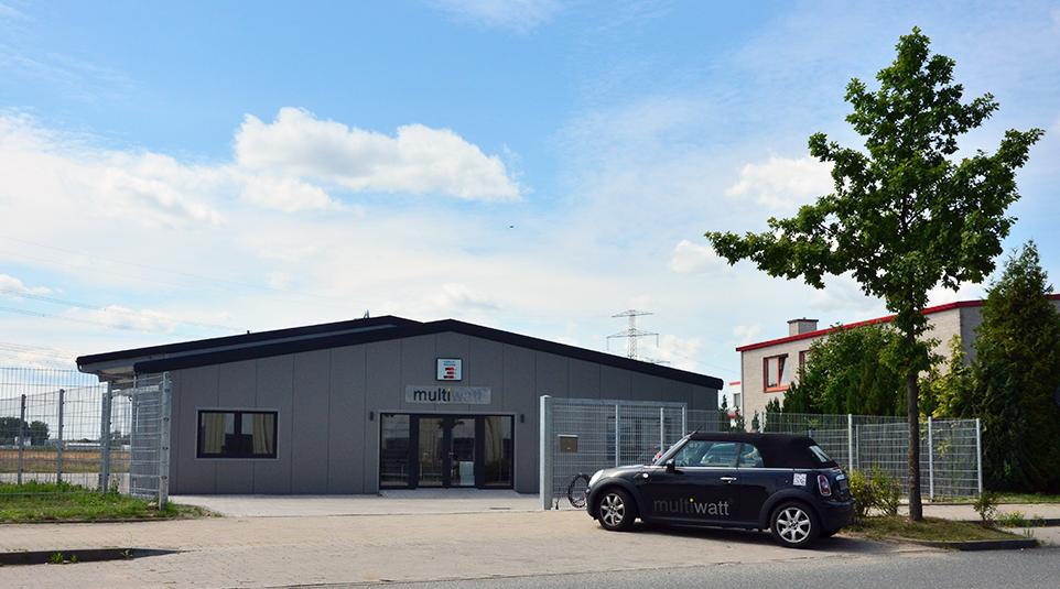 multiwatt company building Rostock-Bentwisch