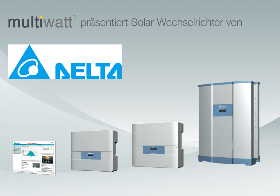 delta solar wechselrichter produktank ndigungmultiwatt. Black Bedroom Furniture Sets. Home Design Ideas